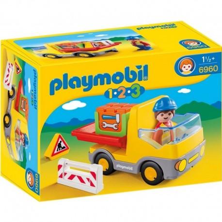 PLAYMOBIL 6960 PLAYMOBIL 1.2.3 Wywrotka