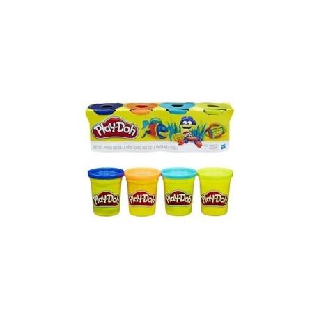 Ciastolina Play-Doh - B6509 - 4 Tuby - Ryba