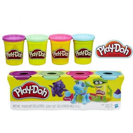 Ciastolina Play-Doh - B6510 - 4 Tuby - Pies