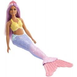 MATTEL Lalka Barbie Dreamtopia LALKA SYRENKA FXT09