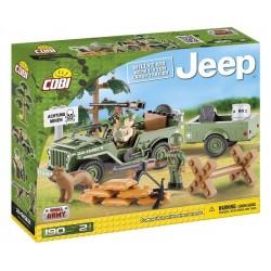 COBI 24192 MAŁA ARMIA Jeep Zielony