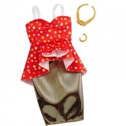 MATTEL Ubrania dla Barbie ELEGANCKA SUKIENKA GHW81