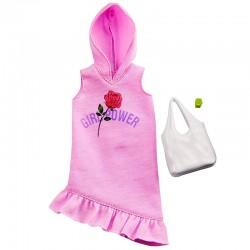 MATTEL Ubrania dla Barbie SPORTOWA SUKIENKA GHW77