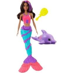 Mattel Barbie Dreamhouse Adventures ZACZAROWANA SYRENA GGG59