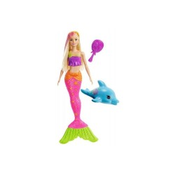 Mattel Barbie Dreamhouse Adventures ZACZAROWANA SYRENA GGG58