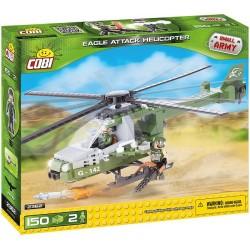 COBI 2362 MAŁA ARMIA Helikopter Atakujący Orzeł