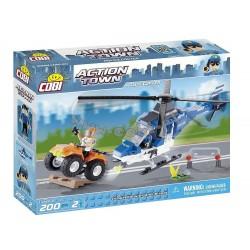 COBI 1563 ACTION TOWN Helikopter Policyjny