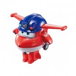 SUPER WINGS Figurka JETT DŻETEK Transformujący Robot Samolot 730031