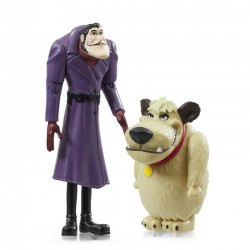 SCOOBY-DOO! Zestaw Figurek Dick Dastardly i Muttley 07183