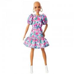 MATTEL Barbie Fashionistas Lalka bez Włosów LALKA NR 150 GHW64