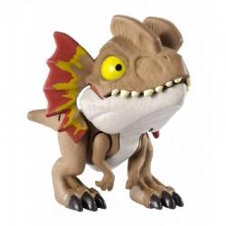 Mattel JURASSIC WORLD Mini Figurka Snap Squad Dilofozaur GJR09