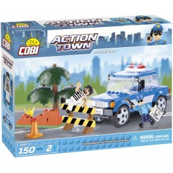 COBI 1562 ACTION TOWN Samochód Policyjny