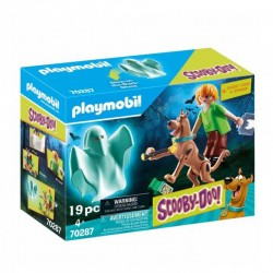 PLAYMOBIL Scooby-Doo! 70287 Scooby Doo i Kudłaty z Duchem