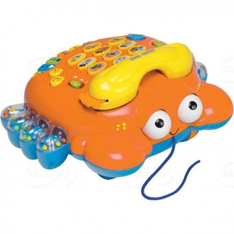 Dumel Discovery - DD39121 - Blabla Krab - Interaktywny Telefon