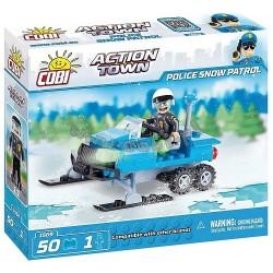 COBI 1569 ACTION TOWN Śnieżny Patrol Policyjny