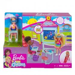 Mattel Lalka Barbie Club Chelsea SZKOŁA GHV80