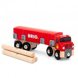 BRIO Ciężarówka z Drewnem 33657