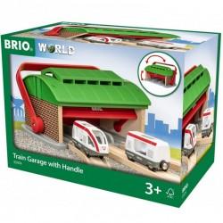 BRIO Garaż dla Pociągów z Rączką 33474