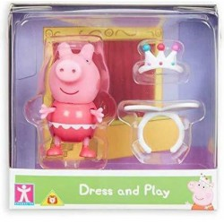 Character Options ŚWINKA PEPPA Dress and Play Peppa+Korona 07043