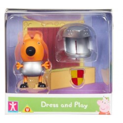 Character Options ŚWINKA PEPPA Dress and Play Freddy Lis Rycerz 07043