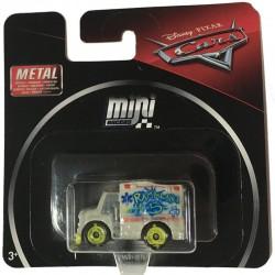 Mattel CARS Mini Racers Autko Dr DAMAGE DZWON GLD40