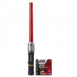 Hasbro Star Wars MIECZ ŚWIETLNY Czerwony E4475