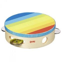 Goki - 61920 - Kolorowy Tamburyn