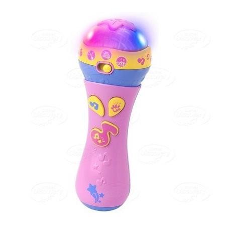 Dumel Discovery - DD42158 - Mikrofon Małego Artysty - Różowy