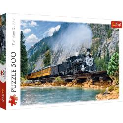 TREFL Puzzle Układanka 500 el. GÓRSKI POCIĄG 37379
