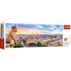 TREFL Puzzle Układanka 1000 el. Panorama WIDOK Z KATEDRY NOTRE-DAME W PARYŻU 29029
