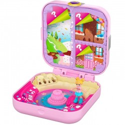 Mattel POLLY POCKET Micro Urodzinowe Przyjęcie Candy Adventure GKV11
