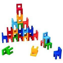 Goki - 56929 - Gra Zręcznościowa - Balansujące Krzesła