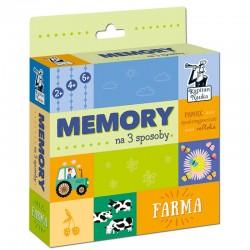 KAPITAN NAUKA Gra Memory FARMA 6928