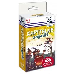 KAPITAN NAUKA Zabawy i Gry Logiczne KAPITALNE ZAGADKI 6-7 LAT 7745