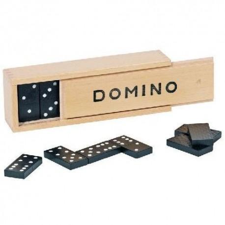 Goki - 15335 - Gra - Układanka - Drewniane Domino