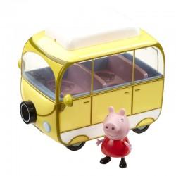 Świnka Peppa KAMPER + Figurka 06060