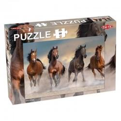 TACTIC Puzzle 56 el. WILD HORSES DZIKIE KONIE 56661