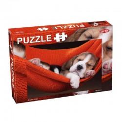 TACTIC Puzzle 56 el. SLEEPING PUPPY ŚPIĄCY SZCZENIAK 56662
