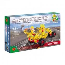 Alexander Klocki Konstrukcyjne MAŁY KONSTRUKTOR Motor 1081