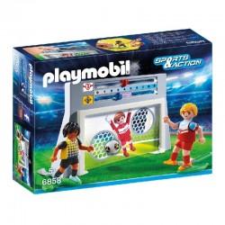 PLAYMOBIL 6858 Sports&Action STRZELANIE DO BRAMKI