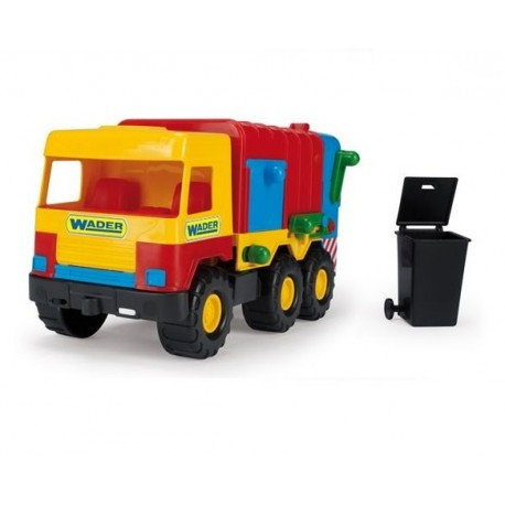 WADER 32001 - Pojazdy Middle Truck - ŚMIECIARKA