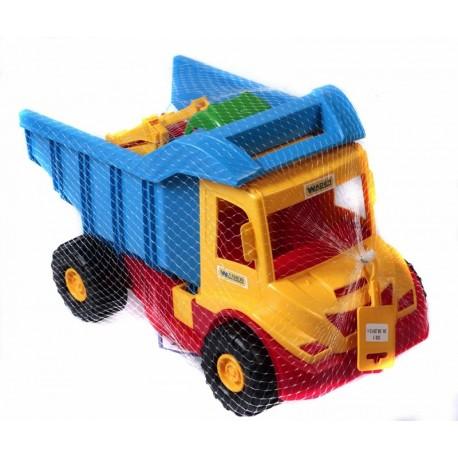 WADER - 32210 - Pojazdy - Multi Truck - Wywrotka ze Spychaczem Buggy