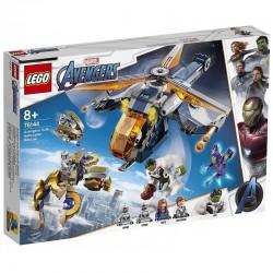 LEGO AVENGERS 76144 Upadek Helikoptera Hulka