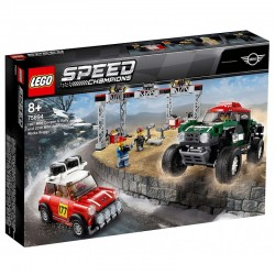 LEGO SPEED CHAMPIONS 75894 Mini Cooper S Rally i Mini John Cooper Works Buggy