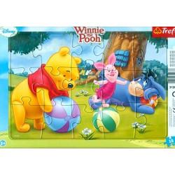 Trefl Puzzle w Ramce 15 Elementów KUBUŚ PUCHATEK 31268