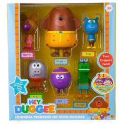 Golden Bear Hey Duggee ZESATW 6 FIGUREK 1870