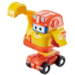 SUPER WINGS Figurka Transformujący Robot KOPARKA SCOOP 730013