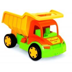 WADER - 65002 - Pojazdy - Gigant Truck - Wywrotka z Kompletem do Piasku