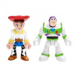 Fisher-Price Imaginext Toy Story FIGURKI BUZZ ASTRAL I JESSIE GFT02