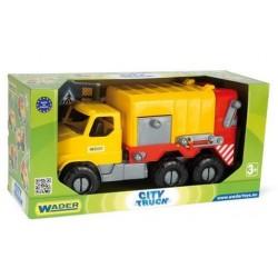 WADER - 32600 - Pojazdy - City Truck - Śmieciarka